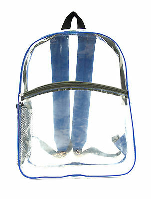 All Front Clear School Backpack- Go To School