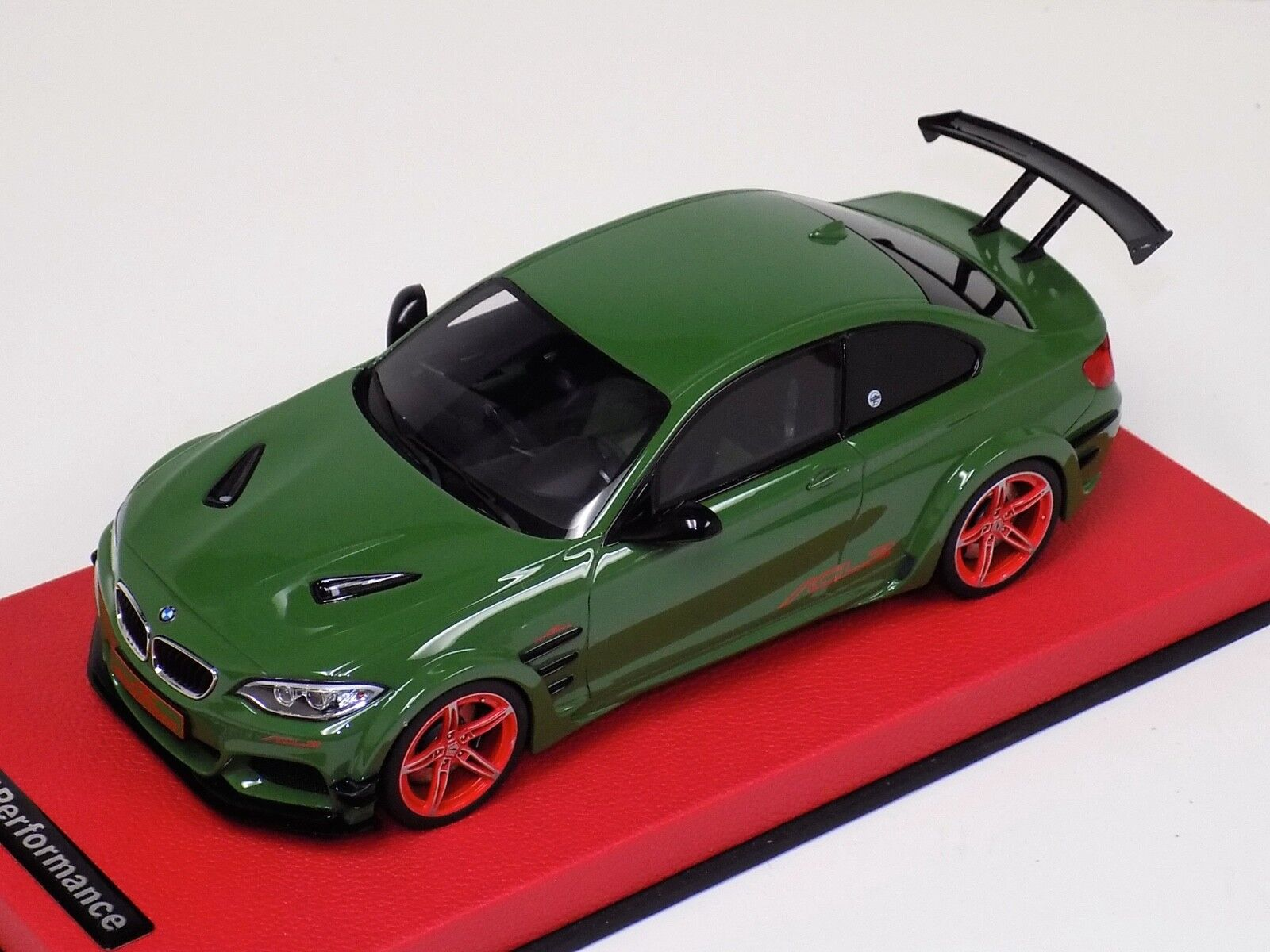 1/18 GT Spirit BMW M2 AC Schnitzer ACL2 in Green  GT146 Red Leather