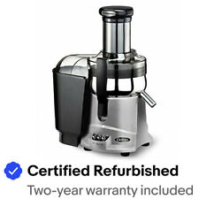 Omega NC800HDSX Juicer Extractor and Nutrition System Silver - Refurbished