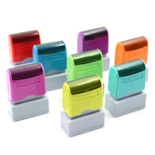 custom pre self inking office company personalized return address rubber stampTO