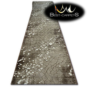 Modern-Thick-amp-Soft-Hall-Runner-VOGUE-width-70-100-cm-Beige-long-stairs-RUGS
