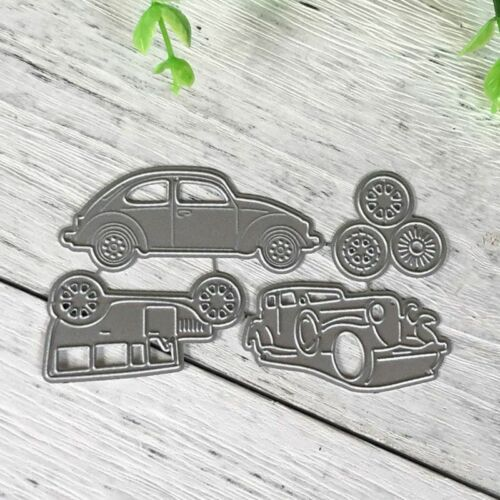 1 Set Car Carbon Steel Cutting Die Stencil Embossing  DIY Paper Scrapbooking Art
