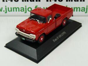 ARG42G-Voiture-1-43-SALVAT-Autos-Inolvidables-FORD-F-100-1959-pick-up