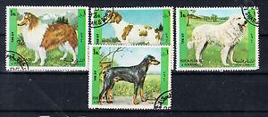 Briefmarken LiebenswüRdig Sharjah Briefmarken 1972 Hunde Mi.nr.1292-95