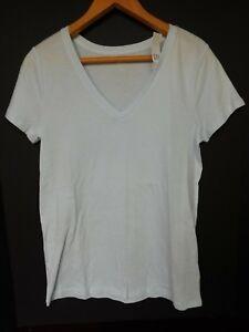 NWT-GAP-Women-039-s-Favorite-V-Neck-T-Shirt-Light-Blue-Sizes-XS-S-M-Free-Ship-NEW