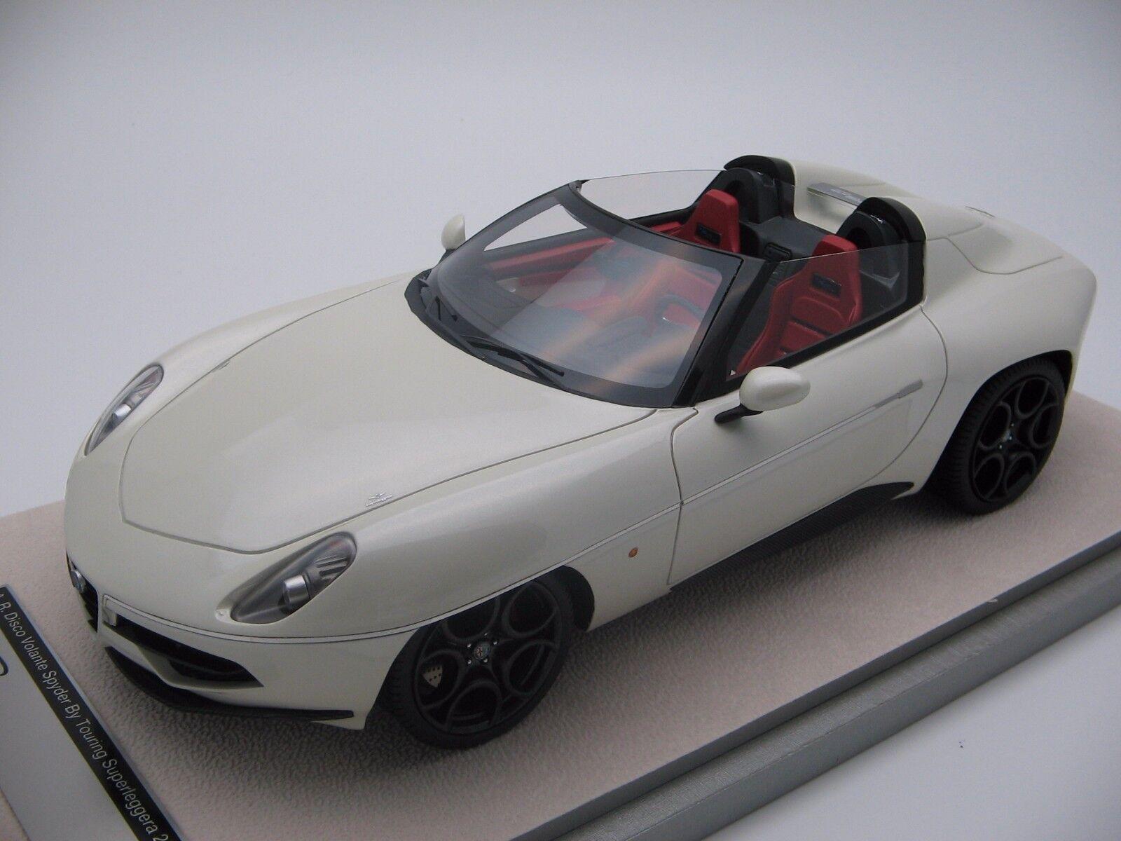 1 18 scale Tecnomodel Alfa Romeo Disco Volante Spyder by Touring TM18-68C