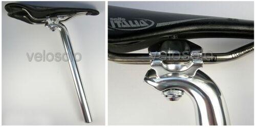 Kalloy 27.2 Tige de selle-Fixed Track steel frame MTB Ritchey Type Argent Noir