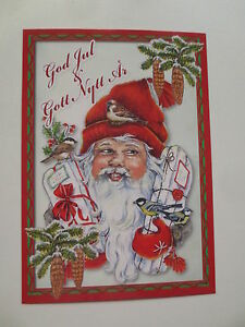 """Tolle schwedische Weihnachtskarte """"God Jul & Gott Nytt År"""",Tomte *NEU* - Berlin, Deutschland - Tolle schwedische Weihnachtskarte """"God Jul & Gott Nytt År"""",Tomte *NEU* - Berlin, Deutschland"""