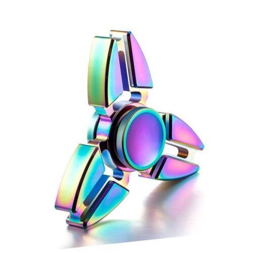 Buy1Get1 50/% Rainbow Bangers Spinner Finger Fun Toys spin de Noël cadeau idée