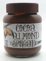 Trader Joe's Cocoa Almond Spread - Buttery & Delicious Plastic-sealed 13 Oz