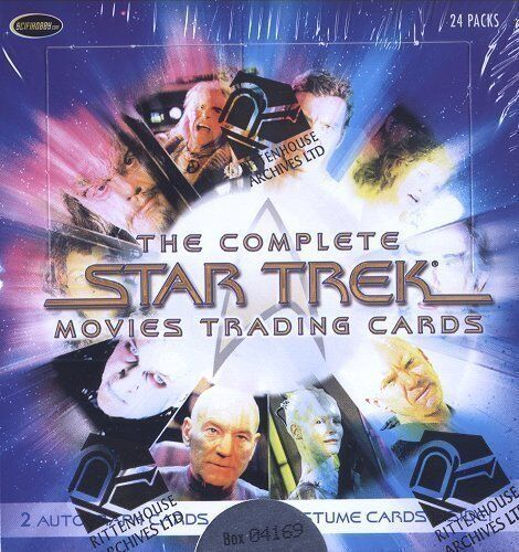 Rittenhouse The Complete Star Trek Movies Box