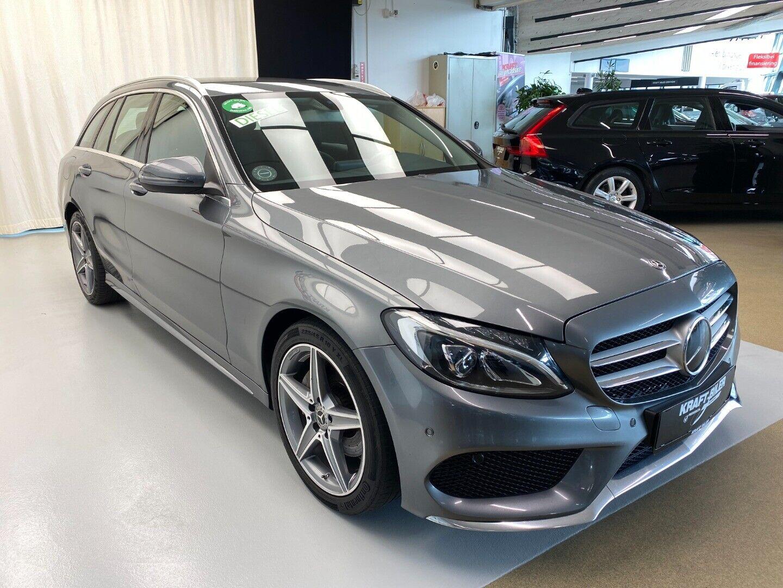 Billede af Mercedes C220 d 2,2 AMG Line stc. aut.