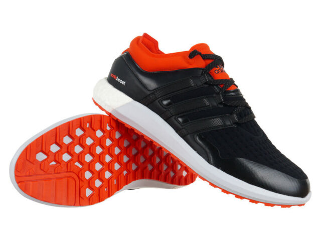 half price unique design discount shop adidas CLIMAHEAT SONIC BOOST Mens Running Shoes Warm Black Sports Trainers