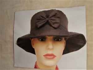 Travailleur Tandy Femme Chapeau Lady Hat Femme Pluie Chapeau Coton Doublé Confort Chaud Cadeau-afficher Le Titre D'origine