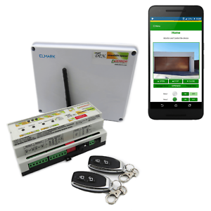 Barrier Opener Relay Controller with Wi-Fi, Android App, RF remotes