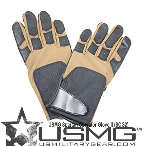 Us military gear Spartan opérateur gant II coyote tan sog2