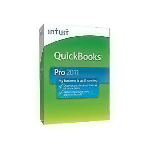 Intuit QuickBooks Pro 2011 - in box with install & setup guide