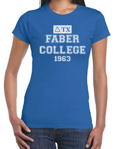 590 Faber College Hoodie funny pop culture costume frat party college new