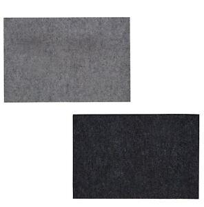 Heavy Duty Non Slip Light/Dark Grey Floor Door Mat