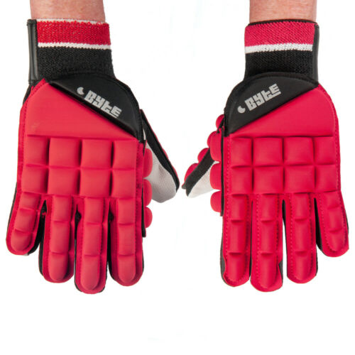 PAIR Details about  /BYTE CLUB PADDED HOCKEY GLOVE RED
