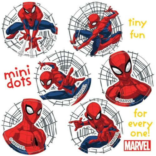 Spiderman Stickers 48 Dots Party Loot Reward Charts Birthday Party Supplies