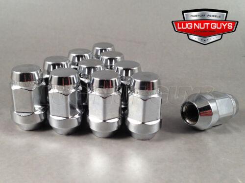 24 McGard No Rust Lug Nuts Bulge Acorn 12x1.25 Chrome Wheel Nut Fits Nissan
