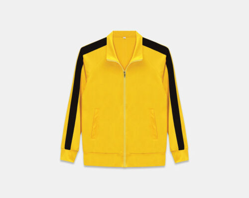 New Kill Bill Bruce Lee Style Track Suit Warm Up Jackets Pants Gym Training Wear