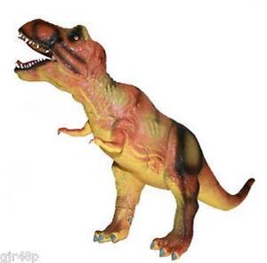 MEGASAURS Soft Durable Foam Dinosaur Figurine T REX Realistic Prehistoric Dino