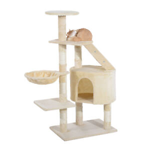 49-034-Cat-Scratching-Tree-Post-Kitten-House-Condo-Tower-Pet-Play-Activity-Center