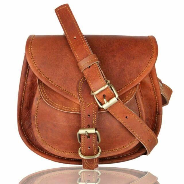 Sunmig Men/'s Genuine Leather Shoulder Bag Messenger Briefcase CrossBody Handbag