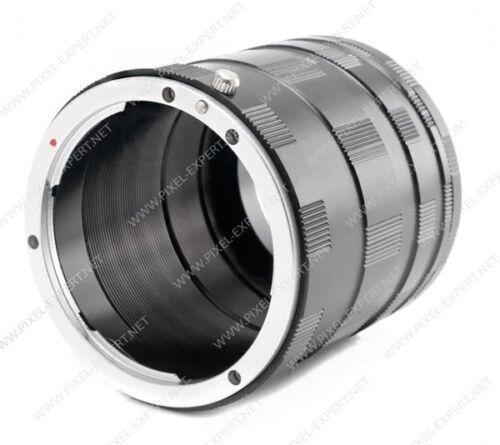 SET TUBI MACRO MICRO 4//3 PER PANASONIC OLYMPUS TUBO 14-42MM EXTENSION TUBE M4//3