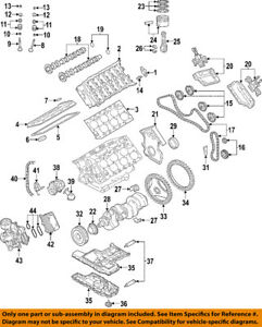 audi oem 05 09 a8 quattro engine oil pump gasket 07c198037 ebay rh ebay com audi a8 engine wiring diagram V8 Engine Diagram