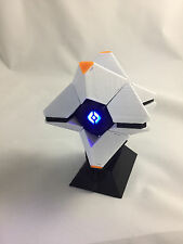 3D Printed Destiny Ghost Replica - Original White w/ Orange