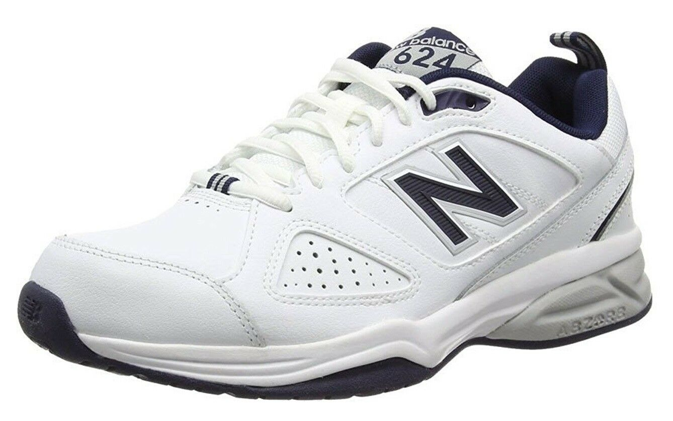 New Balance MX624WN Men's Extra Wide 4E/EEEE Fitting Cross-Training White Shoes
