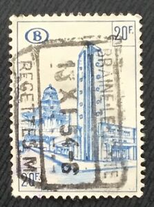 Belgium Stamps Brussels South Railway Station 20 Belgian Franc 1953 Ebay