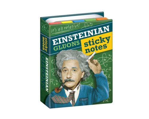 Notizzettel Buch Einstein/'s Weisheiten300 Klebezettel in diversen Formen