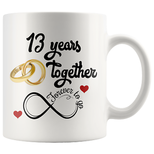 13 Year Anniversary Gift For Him Or Her 13th Wedding ...