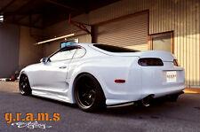 Toyota Supra Ridox RDX Style Rear Fenders +50mm for Wide Body Kit V6