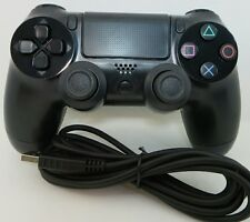 Wired USB Controller Black PS Playstation 4 PC Sony Gaming Joystick Analog New