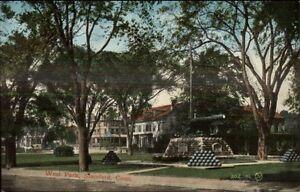 Stamford-CT-West-Park-c1910-Postcard