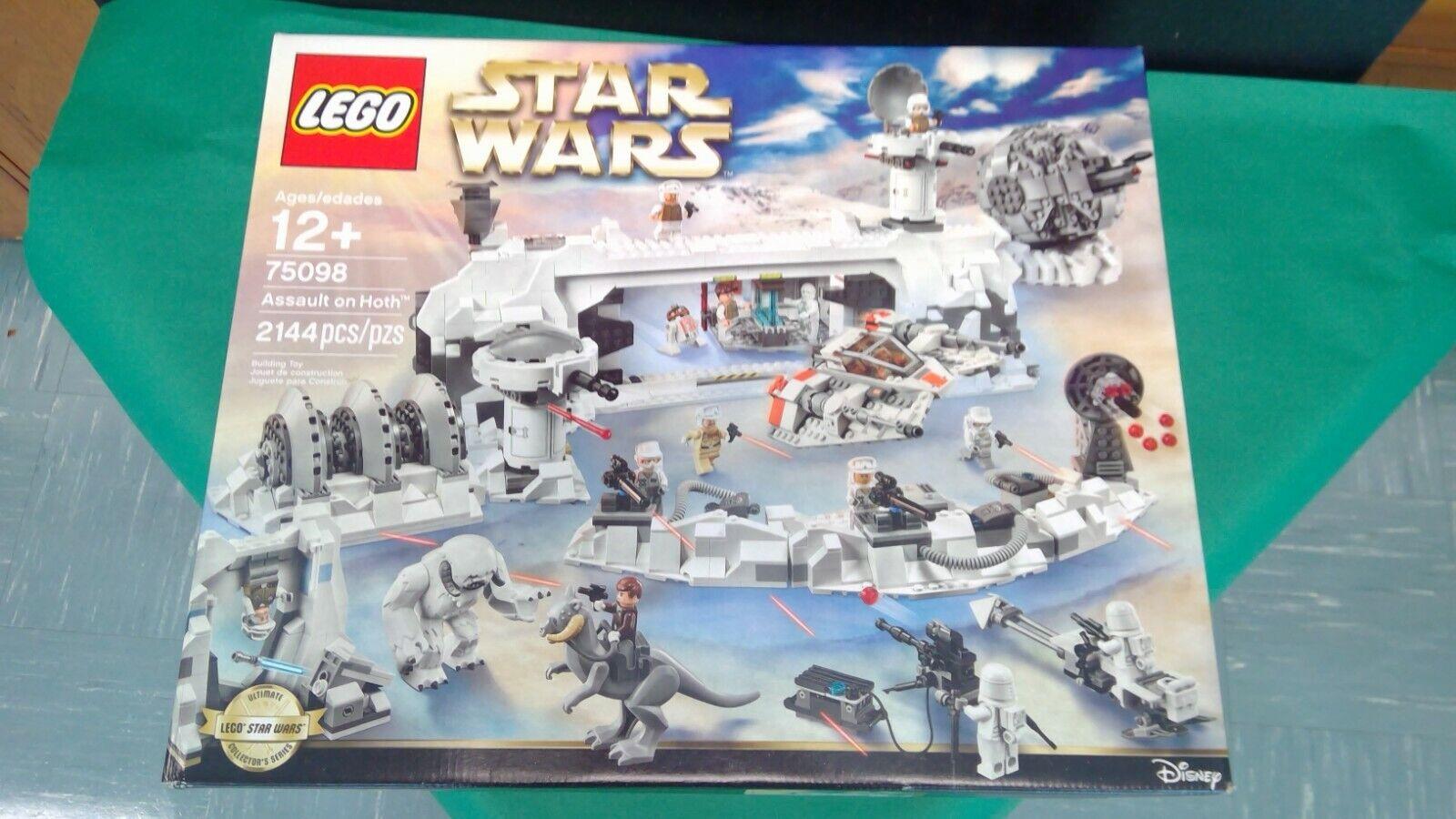 Authentic LEGO Star Wars Luke Skywalker Minifigure sw731 75098 Assault on Hoth