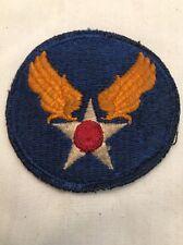 VINTAGE WW2 US ARMY AIR FORCE  MILITARY PATCH WW II WW 2 KOREAN WAR UNIFORM #2