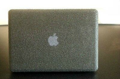 Diamante Bling Diamond macbook pro 13 13.3 inch Case Cover 2010 -2014 Silver
