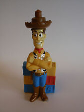 1995 Hasbro Disney Woody Toy Story 1 Figure Bubble Bath Container Empty Blocks