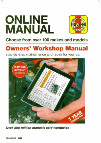 sainchargny.com Haynes 1yr subscription online manual over 100 ...