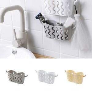 Suction-Cup-Basket-Holder-Shower-Caddy-Sink-Soap-Rack-Wall-Hanging-Storage-NEW