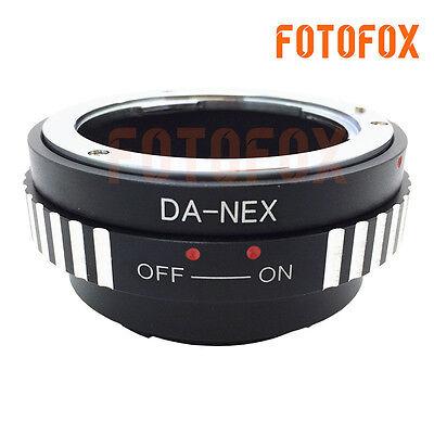 Da Nex Pentax K Pk A Da Af Lens To Sony Nex E Mount Adapter Nex7 Nex5 Nex 3 5n Ebay