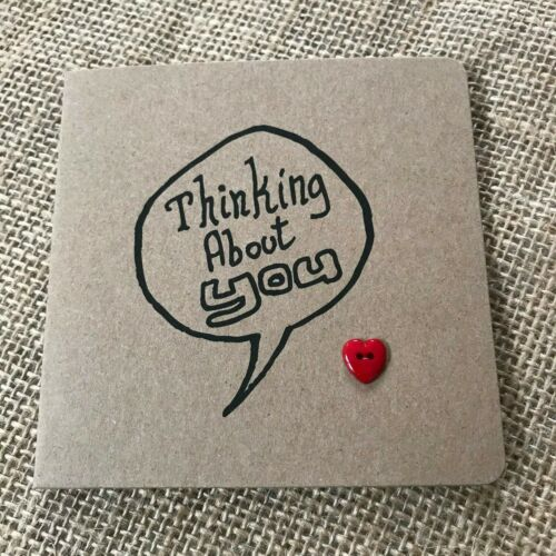 Keeping in touch Handmade THINKING ABOUT YOU Carte