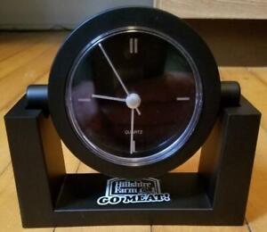 Hillshire Farm Go Meat Desk Clock Black Plastic Battery Operated Ebay
