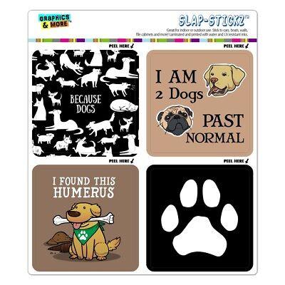 Dachshunds Funny Wiener Dog Puns Craft Scrapbook Planner Calendar Sticker Set